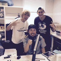 ラジオ収録 ひるらぶ ゲスト M-CHANGE